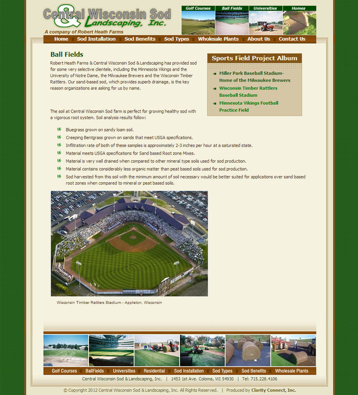 Central Wisconsin Sod CCI Client