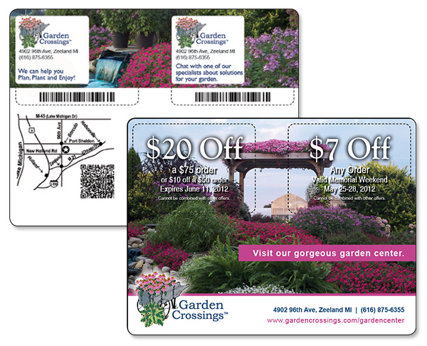 For Garden Crossings we currently have 5 coupons and 0 deals. Our users can save with our coupons on average about $Todays best offer is $25 Off $50+ quicheckdimu.gq you can't find a coupon or a deal for you product then sign up for alerts and you will get updates on every new coupon added for Garden Crossings.