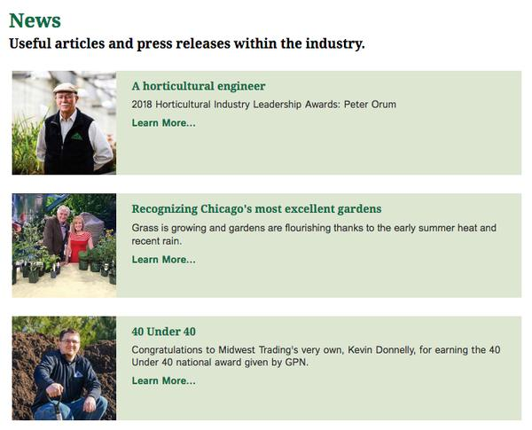 Articles can be displayed alphabetically, chronologically and/or by categories.
